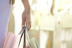 Handholding-Beutel Lizenzfreie Stockbilder