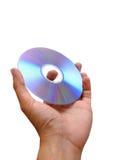 Handholding Dvd Lizenzfreies Stockbild