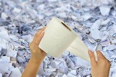 Handholdinggewebe Lizenzfreies Stockfoto