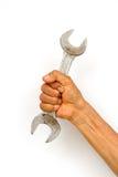 handholdingskiftnyckel Royaltyfria Foton