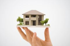 handhusmodell Fotografering för Bildbyråer