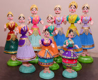 HANDI CRAFT DOLLS Stock Photos