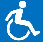 Handicapé Photo libre de droits