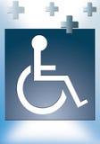 handicapé Photo stock