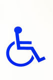 Handicapé Image libre de droits
