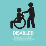 Handicapé Photos libres de droits