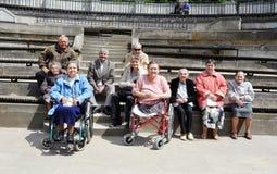 Handicapés Photo libre de droits
