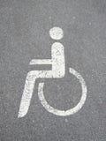 13 handicapés Images stock
