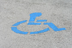 Handicap royalty-vrije stock foto's