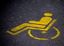 Handicap Fotografia Stock Libera da Diritti