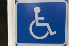 handicap fotografia stock