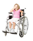 Handicap desperation Stock Photography