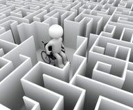 Handicap e labirinto royalty illustrazione gratis