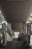Handicap elevator stairs in building. Empty elevator lift stairs in building staircase Royalty Free Stock Images