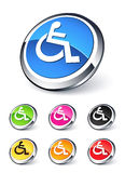 Handicap icon Stock Photos
