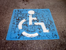 Handicap icon Stock Photo