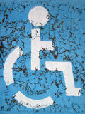 Handicap icon Royalty Free Stock Image