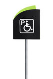 Handicap Parking Sign Royalty Free Stock Images