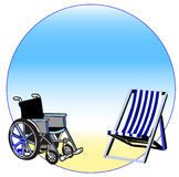 Handicap and relationship Stock Image
