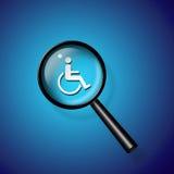 Handicap Search Stock Photo