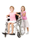 Handicap service to others people Royalty Free Stock Photos