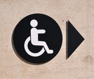 Handicap sign Stock Photography