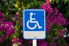 Handicap Sign Stock Image