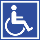 Handicap Sign Royalty Free Stock Image