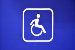 Handicap sign. Royalty Free Stock Photos
