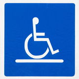 Handicap sign Royalty Free Stock Images