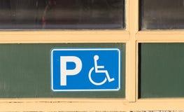 Handicap sign Royalty Free Stock Photo