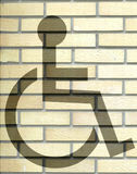 Handicap sign Royalty Free Stock Photos