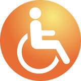 Handicap symbool Stock Fotografie