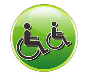 Handicap Web Icon Stock Images