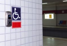 Handicaped elevator Royalty Free Stock Photos