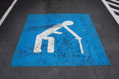 Handicapped Royalty Free Stock Images