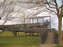 Handicapped accessible viewpoint Stock Photography