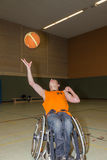 Handicapped boy Royalty Free Stock Photos