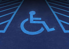 Handicapped And Disabled Royalty Free Stock Image