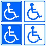 Handicapped icon Stock Image