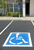 Handicapped Parking Place Revised Royalty Free Stock Images