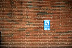 Free Handicapped Parking Sign Stock Image - 58191