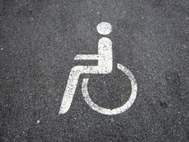 Handicapped  (6) Royalty Free Stock Image