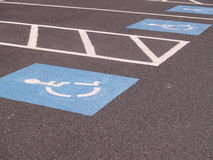 Free Handicapped Parking Spot Royalty Free Stock Photography - 4236927