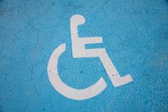 Handicapped people icon Royalty Free Stock Photography