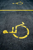 Handicapped sign Royalty Free Stock Photos