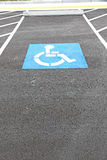 Handicapped sign Royalty Free Stock Image