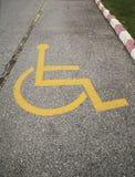 Handicapped symbol. Royalty Free Stock Photo