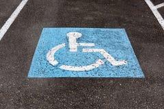 Handicapped symbol Royalty Free Stock Photos