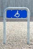 Handicapteken Stock Fotografie